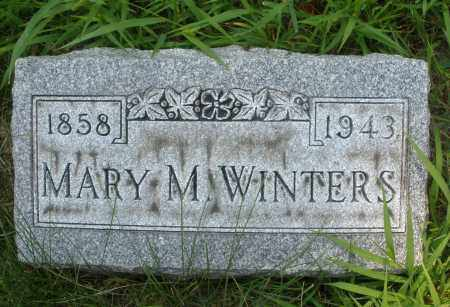 WINTERS, MARY M. - Montgomery County, Ohio | MARY M. WINTERS - Ohio Gravestone Photos