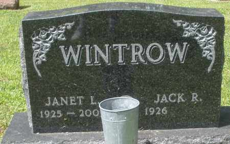 WINTROW, JANET L. - Montgomery County, Ohio | JANET L. WINTROW - Ohio Gravestone Photos
