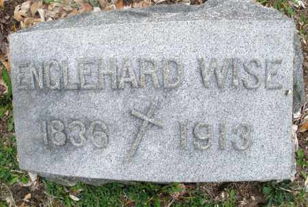 WISE, ENGLEHARD - Montgomery County, Ohio | ENGLEHARD WISE - Ohio Gravestone Photos