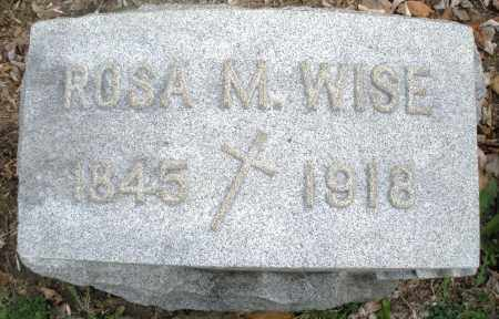 WISE, ROSA M. - Montgomery County, Ohio | ROSA M. WISE - Ohio Gravestone Photos