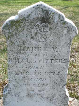 WITTERS, HARRY V. - Montgomery County, Ohio | HARRY V. WITTERS - Ohio Gravestone Photos
