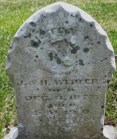 WITTERS, INFANT - Montgomery County, Ohio | INFANT WITTERS - Ohio Gravestone Photos