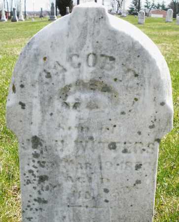WITTERS, JACOB - Montgomery County, Ohio | JACOB WITTERS - Ohio Gravestone Photos