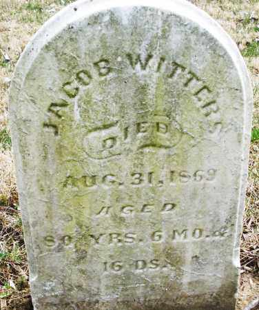 WITTERS, JACOB - Montgomery County, Ohio | JACOB WITTERS - Ohio Gravestone Photos