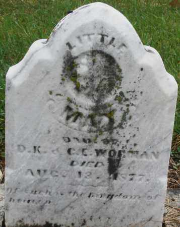 WO-MAN ?, MAY - Montgomery County, Ohio | MAY WO-MAN ? - Ohio Gravestone Photos