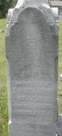 WOGAMAN, MARY - Montgomery County, Ohio   MARY WOGAMAN - Ohio Gravestone Photos