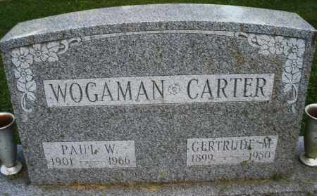 WOGAMAN, PAUL W. - Montgomery County, Ohio | PAUL W. WOGAMAN - Ohio Gravestone Photos