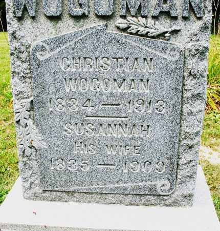 WOGOMAN, CHRISTIAN - Montgomery County, Ohio | CHRISTIAN WOGOMAN - Ohio Gravestone Photos