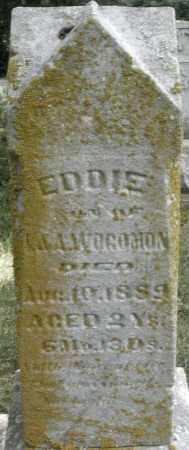 WOGOMAN, EDDIE - Montgomery County, Ohio | EDDIE WOGOMAN - Ohio Gravestone Photos