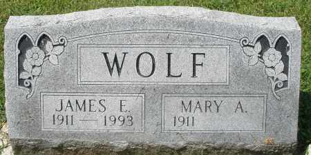 WOLF, JAMES E. - Montgomery County, Ohio | JAMES E. WOLF - Ohio Gravestone Photos
