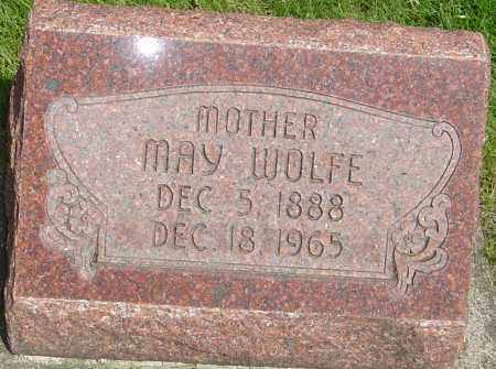 WOLFE, MAY - Montgomery County, Ohio | MAY WOLFE - Ohio Gravestone Photos