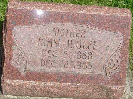 WOLFE, MAY - Montgomery County, Ohio | MAY WOLFE - Ohio Gravestone Photos