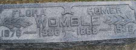 WOMBLE, FLORA - Montgomery County, Ohio | FLORA WOMBLE - Ohio Gravestone Photos
