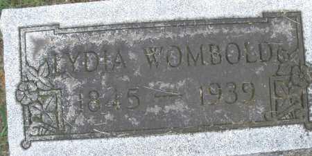 WOMBOLD, LYDIA - Montgomery County, Ohio | LYDIA WOMBOLD - Ohio Gravestone Photos