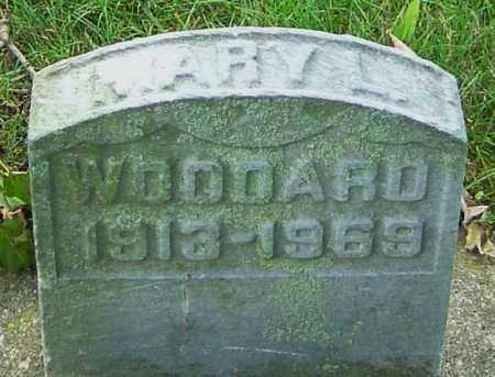 WOODARD, MARY LOUISE - Montgomery County, Ohio | MARY LOUISE WOODARD - Ohio Gravestone Photos