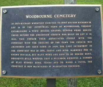 WOODBOURNE, CEMETERY - Montgomery County, Ohio | CEMETERY WOODBOURNE - Ohio Gravestone Photos