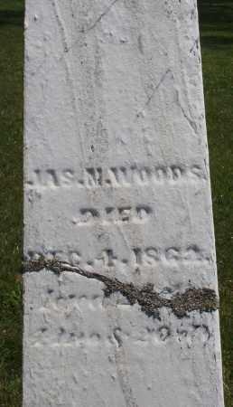 WOODS, JAMES M. - Montgomery County, Ohio | JAMES M. WOODS - Ohio Gravestone Photos