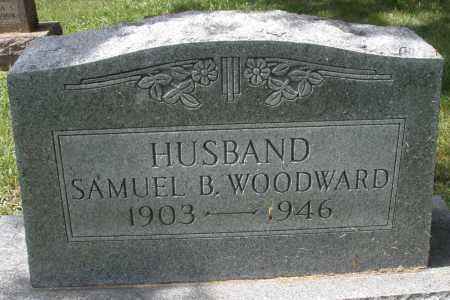 WOODWARD, SAMUEL B. - Montgomery County, Ohio | SAMUEL B. WOODWARD - Ohio Gravestone Photos
