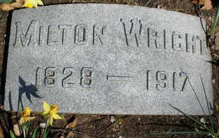 WRIGHT, MILTON - Montgomery County, Ohio | MILTON WRIGHT - Ohio Gravestone Photos