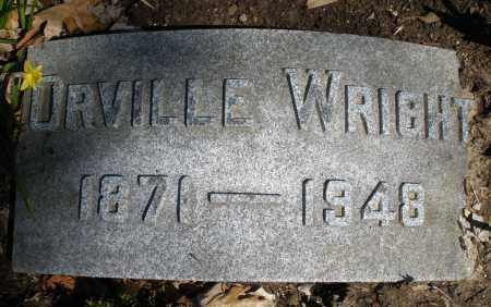 WRIGHT, ORVILLE - Montgomery County, Ohio | ORVILLE WRIGHT - Ohio Gravestone Photos