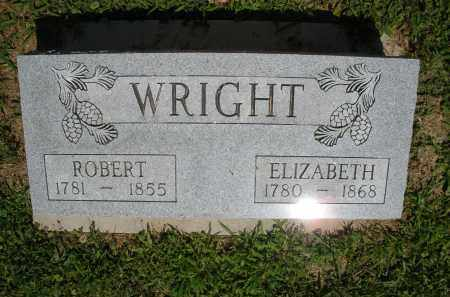 WRIGHT, ELIZABETH - Montgomery County, Ohio | ELIZABETH WRIGHT - Ohio Gravestone Photos