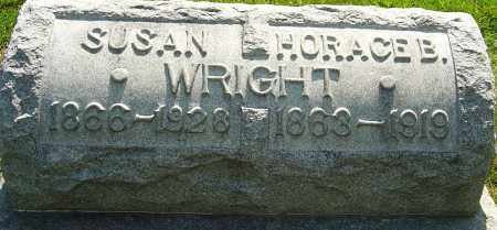 WRIGHT, HORACE BENTON - Montgomery County, Ohio | HORACE BENTON WRIGHT - Ohio Gravestone Photos