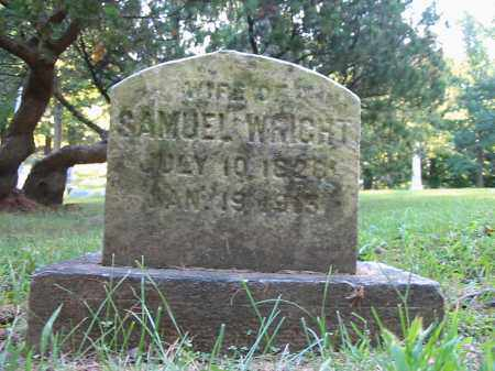 WRIGHT, SAMUEL - Montgomery County, Ohio | SAMUEL WRIGHT - Ohio Gravestone Photos