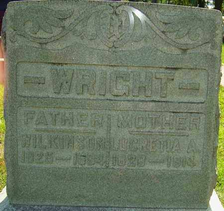 WRIGHT, LUCRETIA ANN - Montgomery County, Ohio | LUCRETIA ANN WRIGHT - Ohio Gravestone Photos