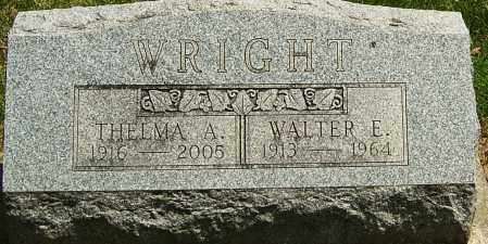 WRIGHT, THELMA A - Montgomery County, Ohio | THELMA A WRIGHT - Ohio Gravestone Photos