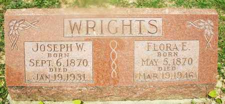 WRIGHTS, FLORA E. - Montgomery County, Ohio | FLORA E. WRIGHTS - Ohio Gravestone Photos