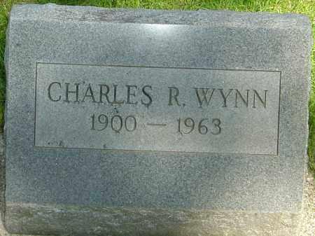 WYNN, CHARLES RAYMOND - Montgomery County, Ohio | CHARLES RAYMOND WYNN - Ohio Gravestone Photos