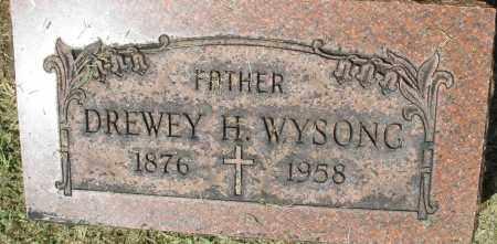 WYSONG, DREWEY H. - Montgomery County, Ohio | DREWEY H. WYSONG - Ohio Gravestone Photos