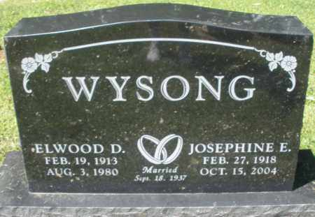 WYSONG, ELWOOD D. - Montgomery County, Ohio | ELWOOD D. WYSONG - Ohio Gravestone Photos