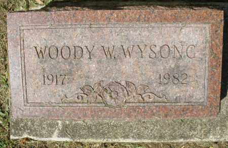 WYSONG, WOODY W. - Montgomery County, Ohio | WOODY W. WYSONG - Ohio Gravestone Photos