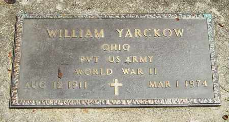 YARCKOW, WILLIAM - Montgomery County, Ohio | WILLIAM YARCKOW - Ohio Gravestone Photos