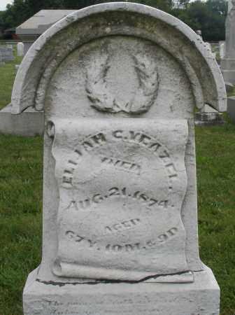 YEAZEL, ELIJAH C. - Montgomery County, Ohio | ELIJAH C. YEAZEL - Ohio Gravestone Photos