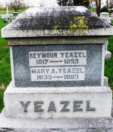 YEAZEL, MARY A. - Montgomery County, Ohio | MARY A. YEAZEL - Ohio Gravestone Photos