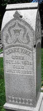 YIKE, HENRY - Montgomery County, Ohio | HENRY YIKE - Ohio Gravestone Photos