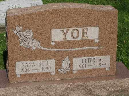 YOE, PETER A. - Montgomery County, Ohio | PETER A. YOE - Ohio Gravestone Photos