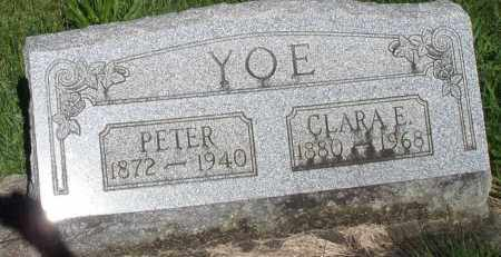YOE, PETER - Montgomery County, Ohio | PETER YOE - Ohio Gravestone Photos