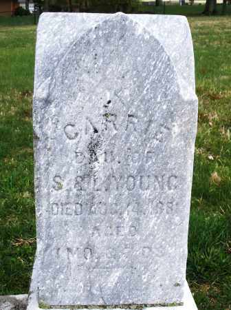 YOUNG, CARRIE - Montgomery County, Ohio | CARRIE YOUNG - Ohio Gravestone Photos