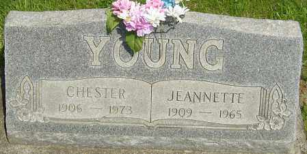 POPE YOUNG, JEANNETTE - Montgomery County, Ohio | JEANNETTE POPE YOUNG - Ohio Gravestone Photos