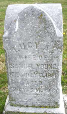 YOUNG, LUCY A. - Montgomery County, Ohio | LUCY A. YOUNG - Ohio Gravestone Photos
