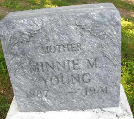 YOUNG, MINNIE M. - Montgomery County, Ohio | MINNIE M. YOUNG - Ohio Gravestone Photos