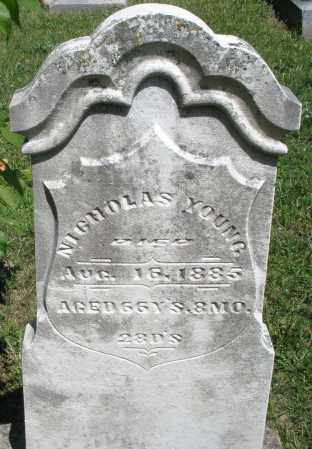 YOUNG, NICKOLAS - Montgomery County, Ohio | NICKOLAS YOUNG - Ohio Gravestone Photos