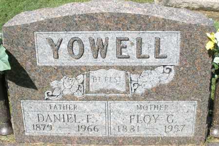 YOWELL, FLOY G. - Montgomery County, Ohio | FLOY G. YOWELL - Ohio Gravestone Photos