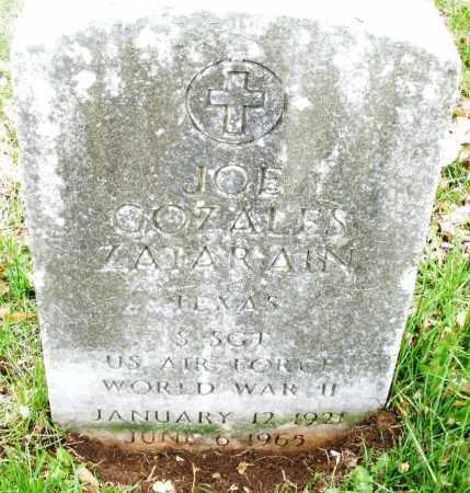 ZATARAIN, JOE COZALES - Montgomery County, Ohio | JOE COZALES ZATARAIN - Ohio Gravestone Photos