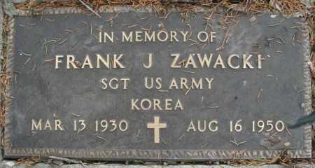 ZAWACKI, FRANK J. - Montgomery County, Ohio | FRANK J. ZAWACKI - Ohio Gravestone Photos