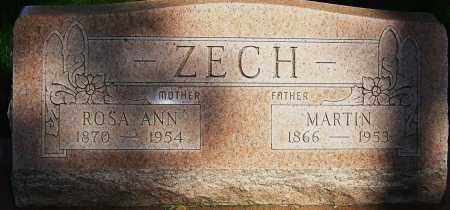 KUHN ZECH, ROSA ANN - Montgomery County, Ohio | ROSA ANN KUHN ZECH - Ohio Gravestone Photos
