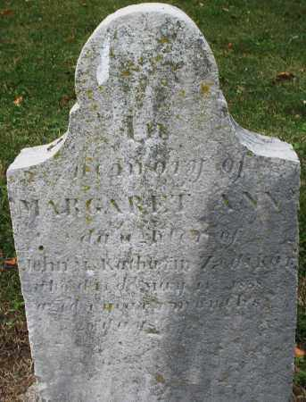 ZEDEKER, MARGARET ANN - Montgomery County, Ohio | MARGARET ANN ZEDEKER - Ohio Gravestone Photos